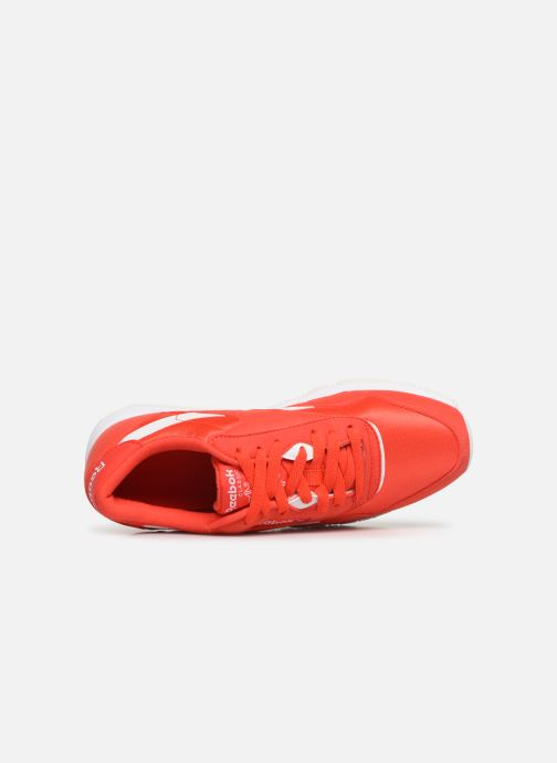 Sneaker Reebok Classic Nylon Color rot ansicht von links