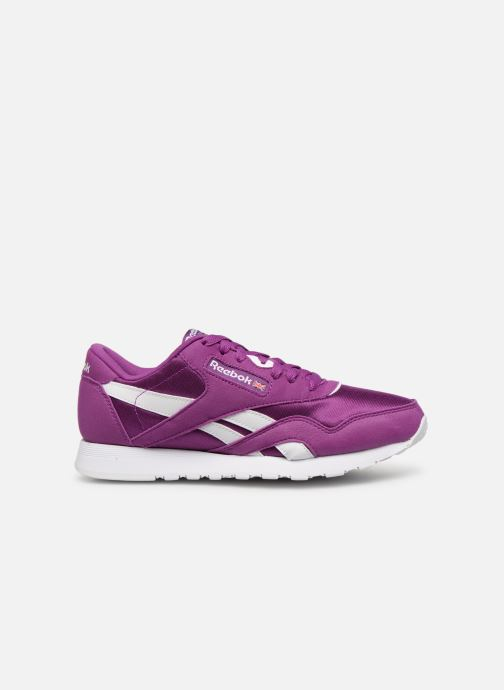 Sneakers Reebok Classic Nylon Color Paars achterkant