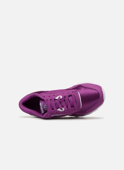 Baskets Reebok Classic Nylon Color Violet vue gauche