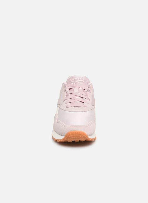 Baskets Reebok Rapide Rose vue portées chaussures