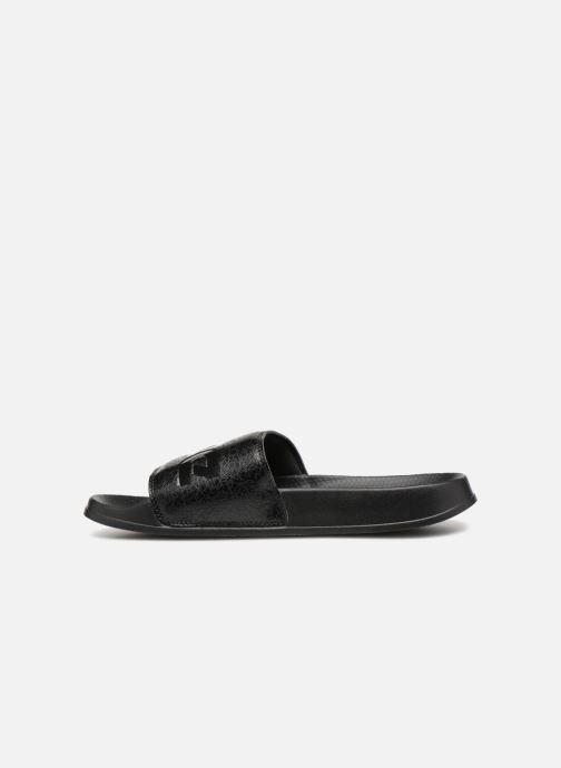 Sandales et nu-pieds Reebok Reebok Classic Slide Noir vue face