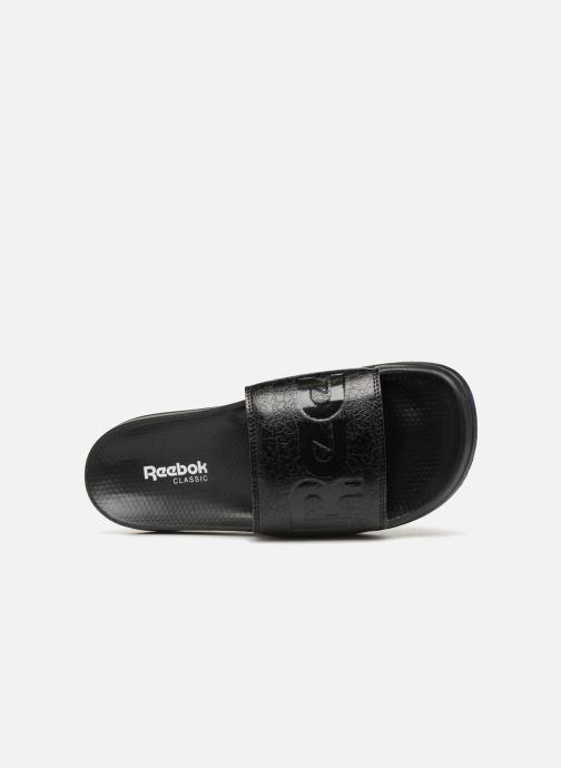 Sandales et nu-pieds Reebok Reebok Classic Slide Noir vue gauche