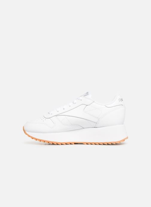 Sneakers Reebok Classic Leather Double Wit voorkant