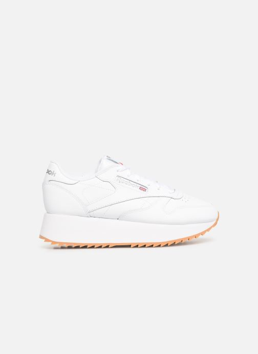 Sneakers Reebok Classic Leather Double Wit achterkant