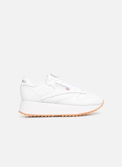 Sneaker Reebok Classic Leather Double weiß ansicht von hinten