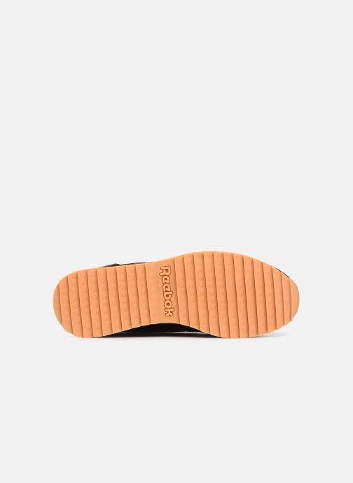 Sneaker Reebok Classic Leather Double schwarz ansicht von oben