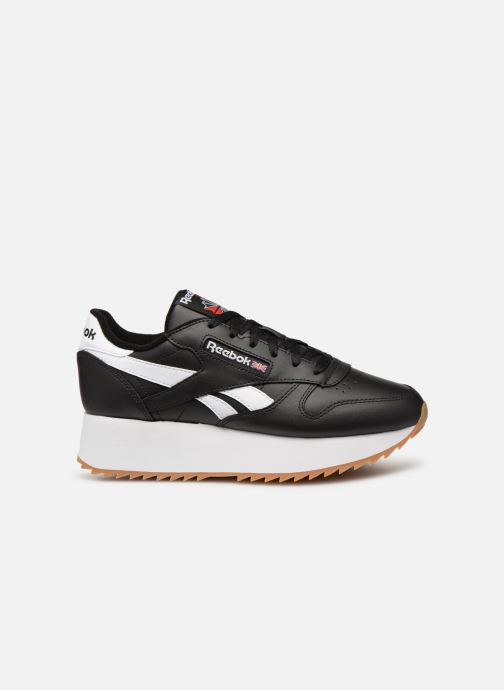 Deportivas Reebok Classic Leather Double Negro vistra trasera