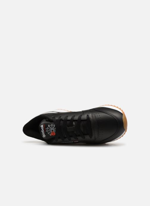 Deportivas Reebok Classic Leather Double Negro vista lateral izquierda