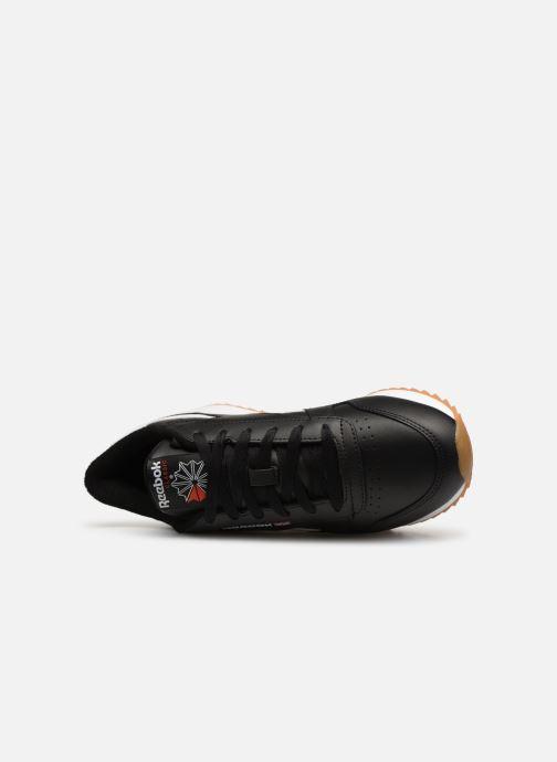 Reebok Classic Baskets Leather primal Double white Black Red ikPZXu