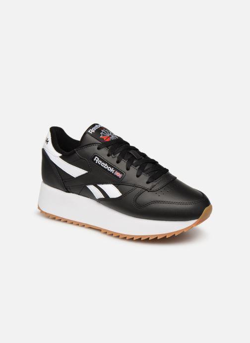 Deportivas Reebok Classic Leather Double Negro vista de detalle / par