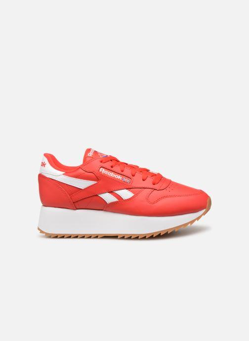 Deportivas Reebok Classic Leather Double Rojo vistra trasera