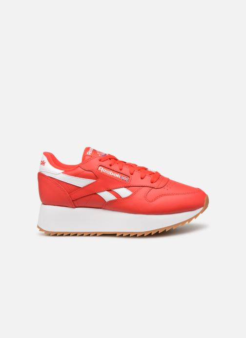 Baskets Reebok Classic Leather Double Rouge vue derrière