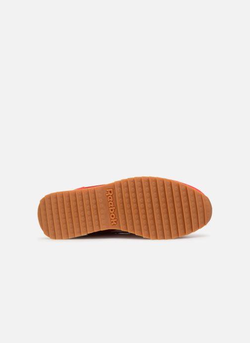 Baskets Reebok Classic Leather Double Rouge vue haut
