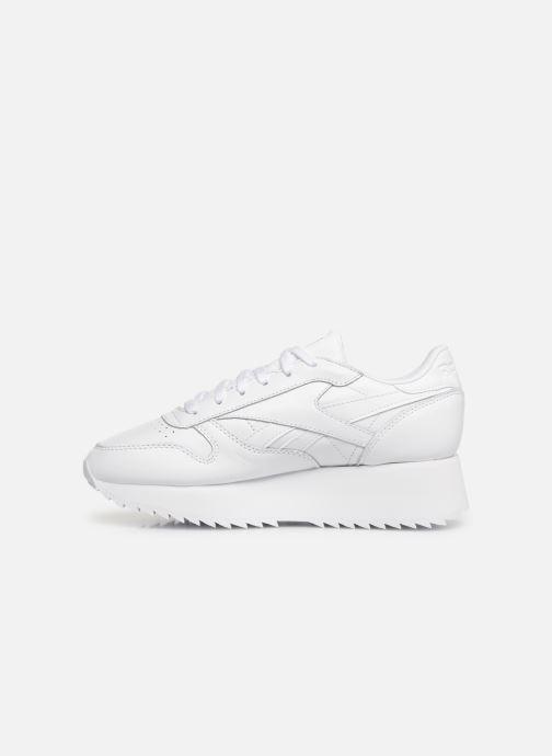 Sneaker Reebok Classic Leather Double weiß ansicht von vorne