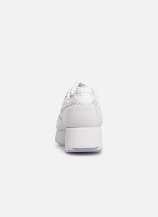Sneaker Reebok Classic Leather Double weiß ansicht von rechts
