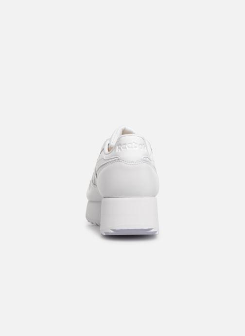 Baskets Reebok Classic Leather Double Blanc vue droite