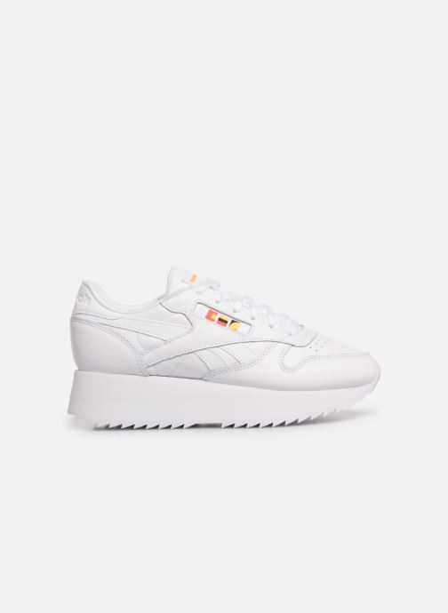 Baskets Reebok Classic Leather Double Blanc vue derrière