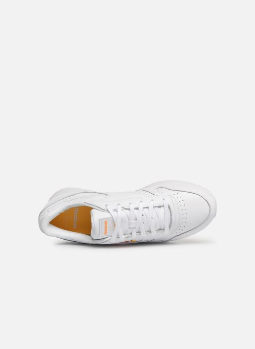 Baskets Reebok Classic Leather Double Blanc vue gauche