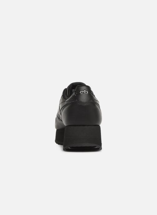 Deportivas Reebok Classic Leather Double Negro vista lateral derecha