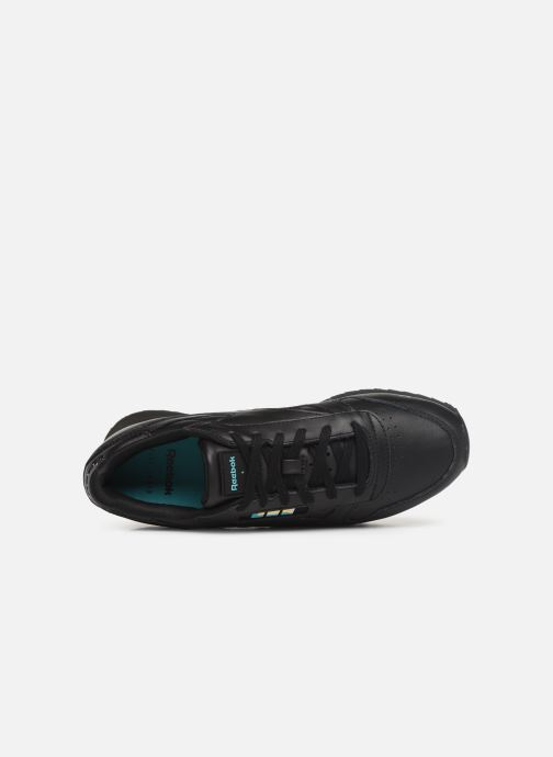 Baskets Reebok Classic Leather Double Noir vue gauche