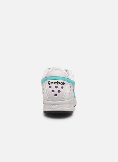 Baskets Reebok Pyro Blanc vue droite