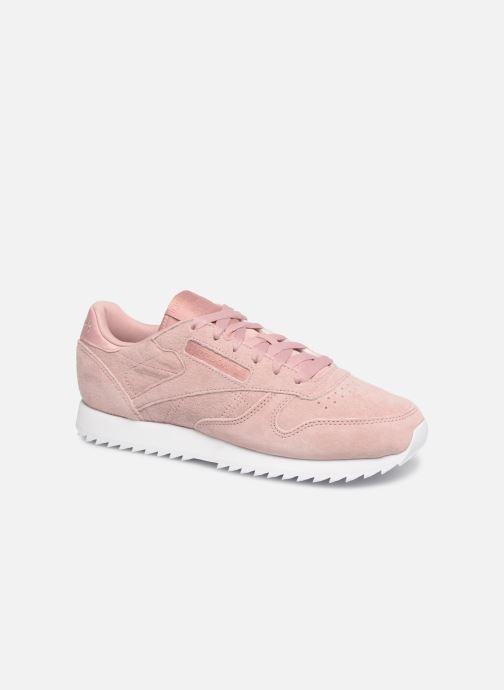 Reebok® Princess Ripple Sneakers in Pink Suede