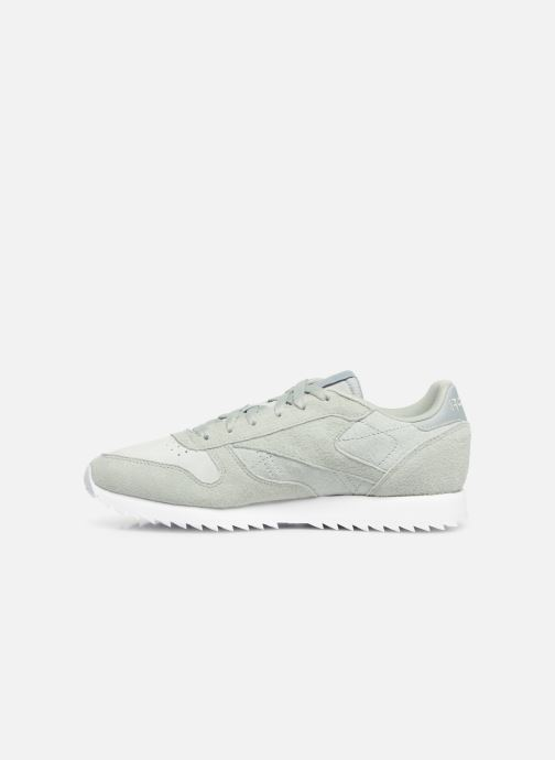 Baskets Reebok Classic Leather Ripple Vert vue face