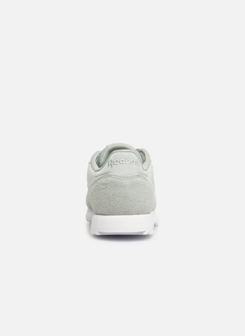 Baskets Reebok Classic Leather Ripple Vert vue droite