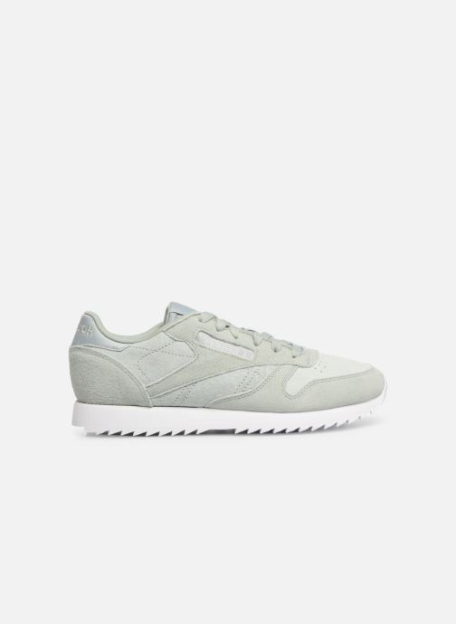 Baskets Reebok Classic Leather Ripple Vert vue derrière