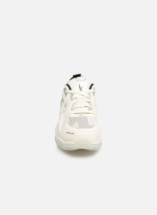 Sneaker Reebok Dmx Series 1600 weiß schuhe getragen