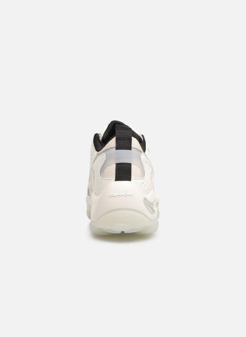 Baskets Reebok Dmx Series 1600 Blanc vue droite