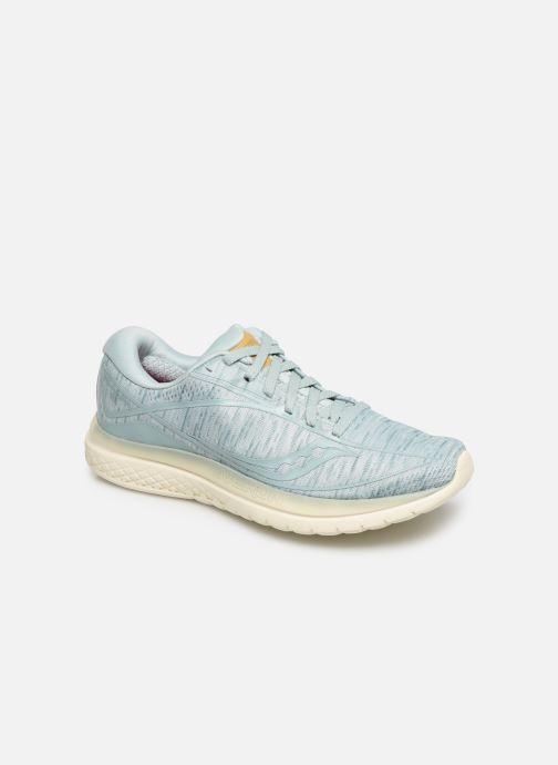 Chaussures de sport Saucony Kinvara 10 Bleu vue détail/paire