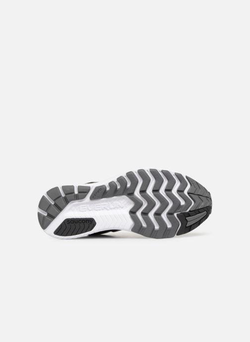 Scarpe sportive Saucony Ride Iso M Nero immagine dall'alto