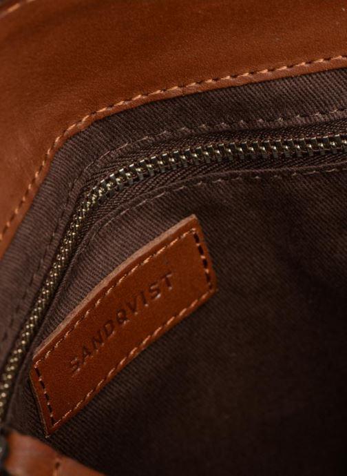 Handtaschen SANDQVIST Frances braun ansicht von hinten