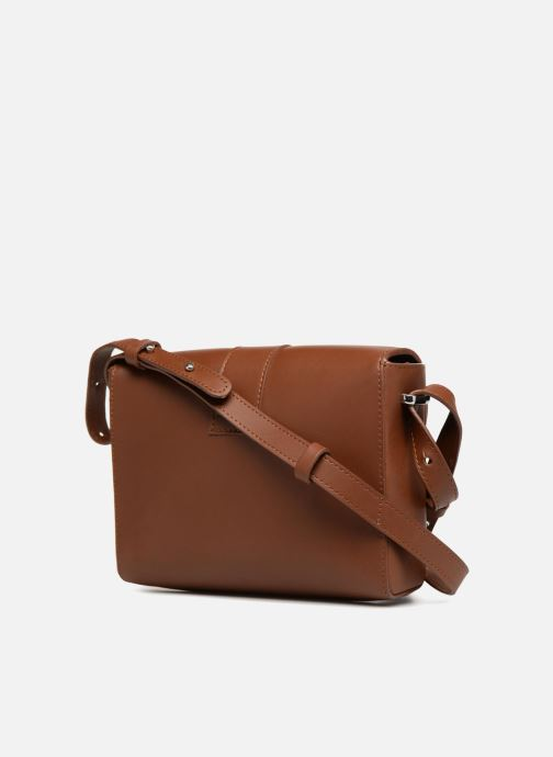 Handbags SANDQVIST Berit Brown view from the right