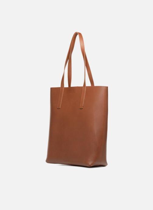 Handtaschen SANDQVIST Helga braun schuhe getragen