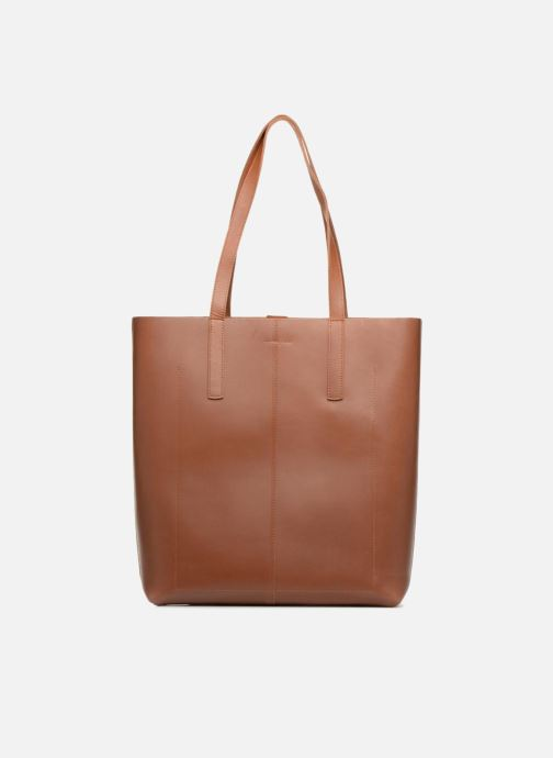 Handbags SANDQVIST Helga Brown front view