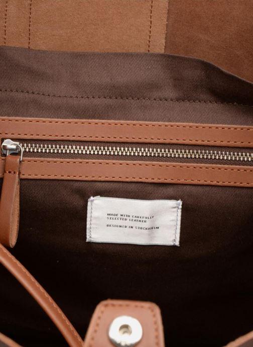 Handbags SANDQVIST Helga Brown back view