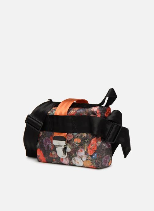 Handtaschen Vivienne Westwood Narcissus Crossbody schwarz schuhe getragen