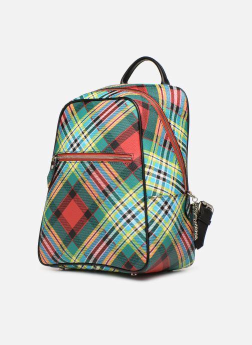 Sacs à dos Vivienne Westwood Shuka Tartan Backpack Multicolore vue portées chaussures