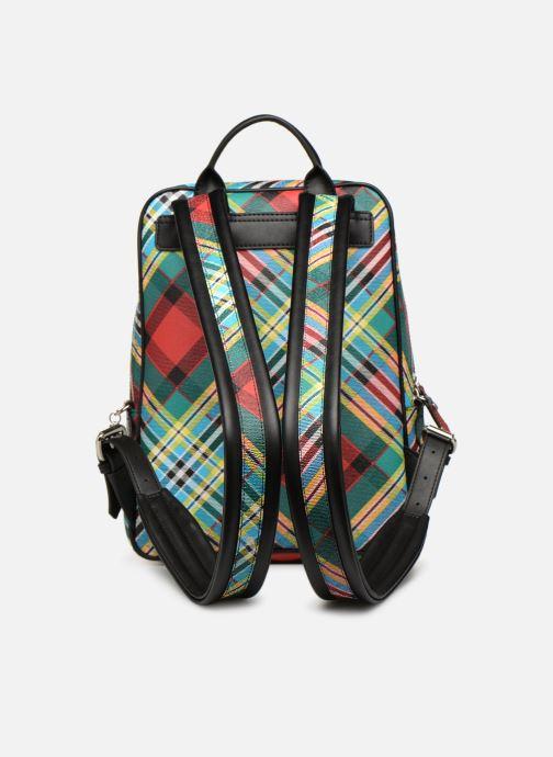 Sacs à dos Vivienne Westwood Shuka Tartan Backpack Multicolore vue face