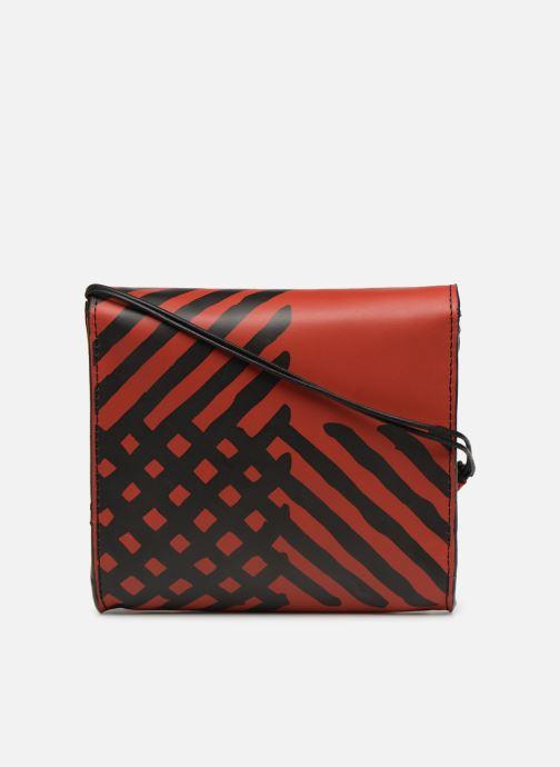 Handtassen Vivienne Westwood Crini Check Leather Crossbody Rood voorkant
