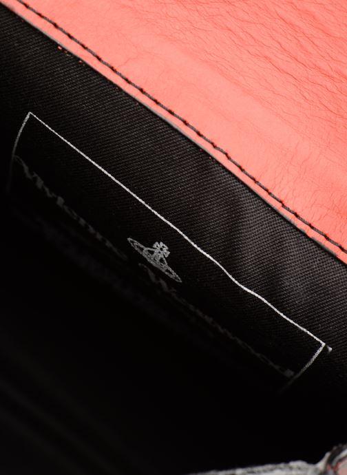 Handtassen Vivienne Westwood Crini Check Leather Crossbody Rood achterkant