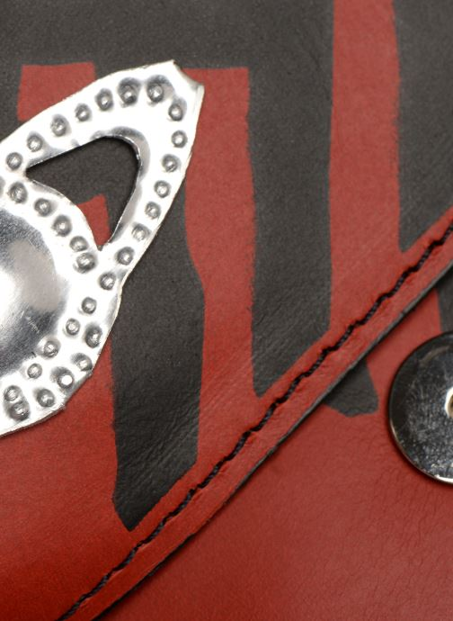 Handtassen Vivienne Westwood Crini Check Leather Crossbody Rood links