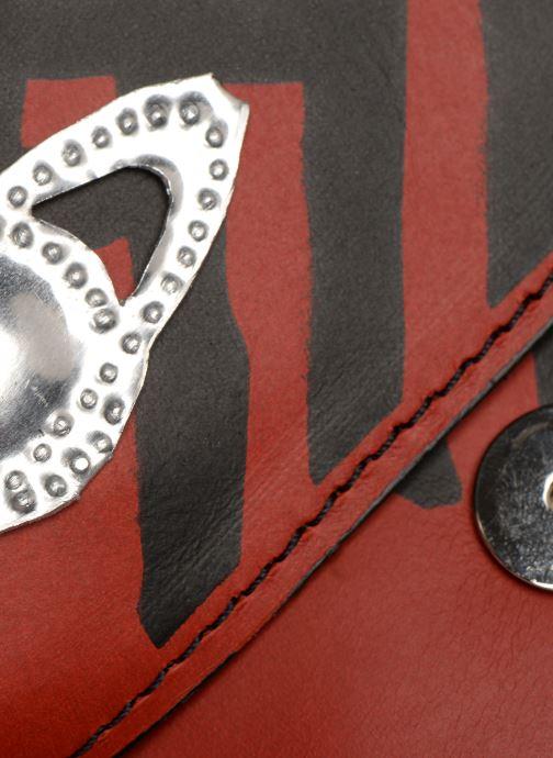 Sacs à main Vivienne Westwood Crini Check Leather Crossbody Rouge vue gauche