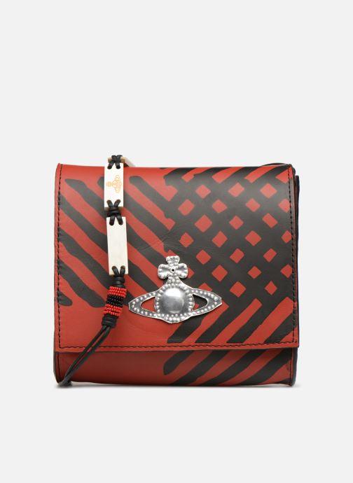 Handtassen Vivienne Westwood Crini Check Leather Crossbody Rood detail