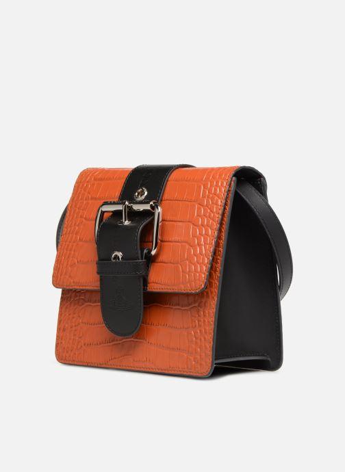 Sacs à main Vivienne Westwood Alex Small Orange vue portées chaussures
