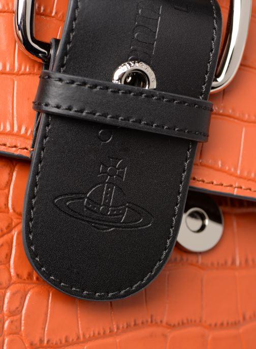Sacs à main Vivienne Westwood Alex Small Orange vue gauche