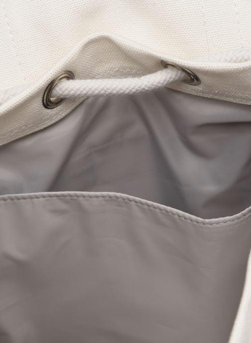 Rucksäcke SANDQVIST STIG SMALL weiß ansicht von hinten