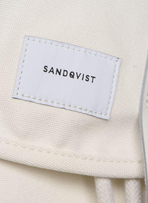 Sacs à dos SANDQVIST STIG SMALL Blanc vue gauche